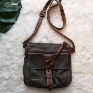 Roots little leather bag